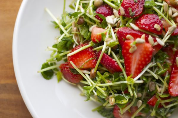 get fresh – with this strawberry salad
