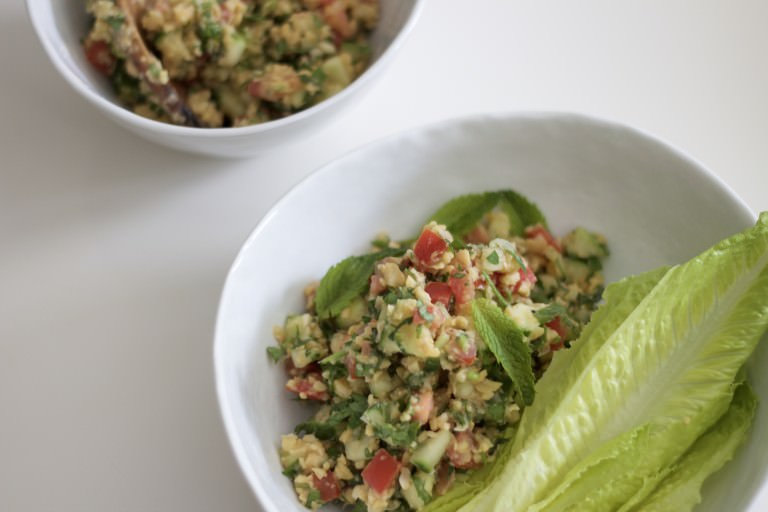 beat the heat – with this no-cook chickpea salad