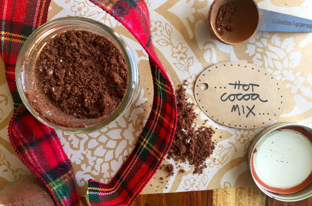 coconut hot cocoa mix — for your diy healthy holiday giving